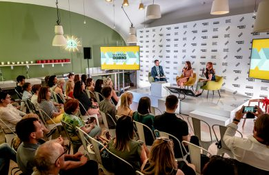 konferencja prasowa warsaw home 2019 podczas przedstawiania Warsaw Build