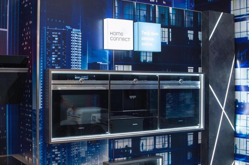 urządzenia Siemensa na stoisku podczas Warsaw Home 2019 wramach systemu Home Connect