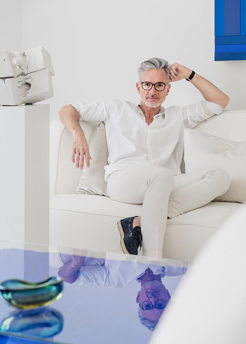 zdjęcie Jaimego Beriestaina uczestnika Design Forum na Warsaw Home 2019