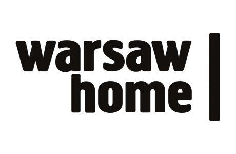 czarny logotyp warsaw home 2019