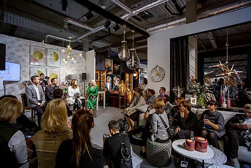 panel dyskusyjny na stoisku Miloo Home podczas Warsaw Home 2019
