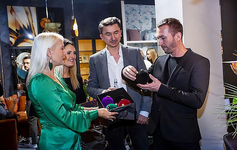 goście na stoisku Miloo Home podczas Warsaw Home 2019