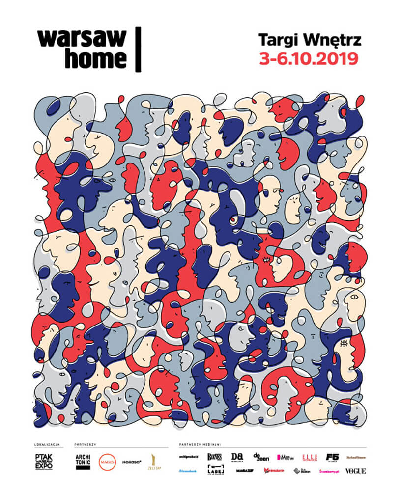 plakat Warsaw Home 2019