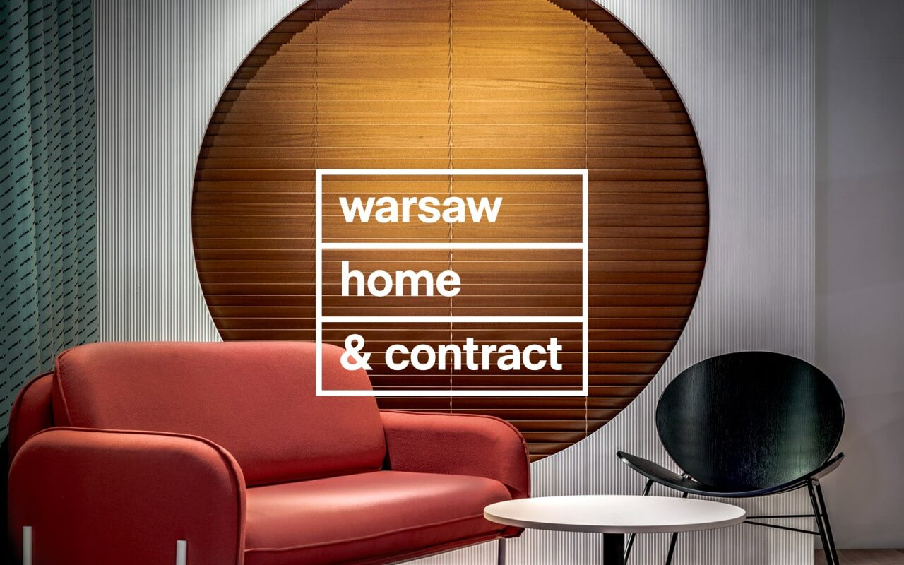 plakat warsaw home & contract 2020