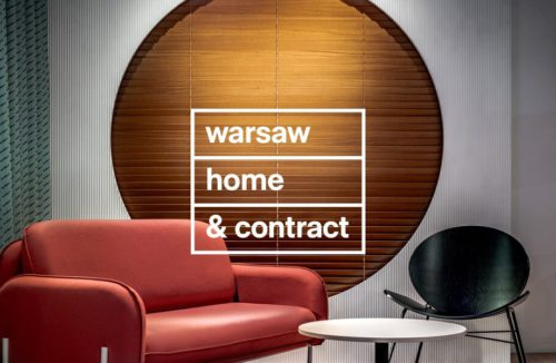 warsaw home & contract - plakat