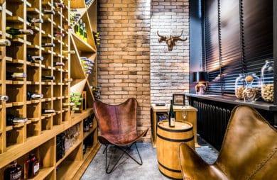 nowoczesne wnętrze biura JFM Furniture w Warszawie projektu Bracia Burawscy Architekci