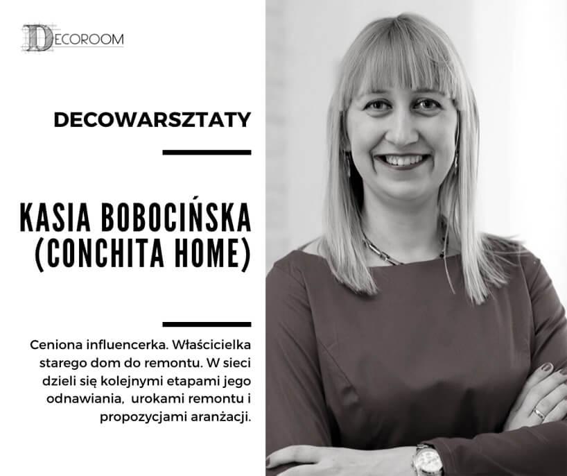 zdjęcie Kasi Bobocińskiej uczestniczki DECOwarsztatów