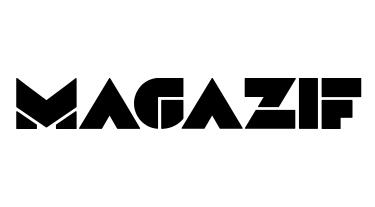 czarny logotyp MAGAZIF