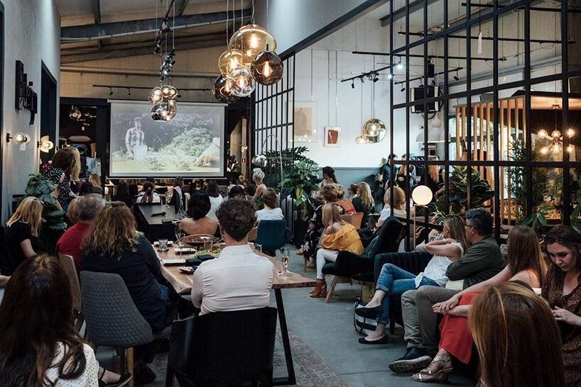 goście podczas prezentacji na Wieczorze Architektów