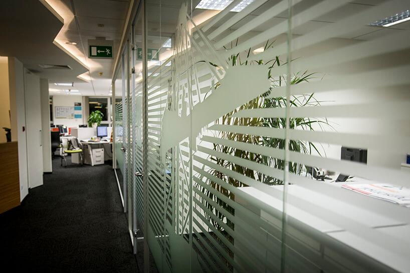 biuro firmy transportowej