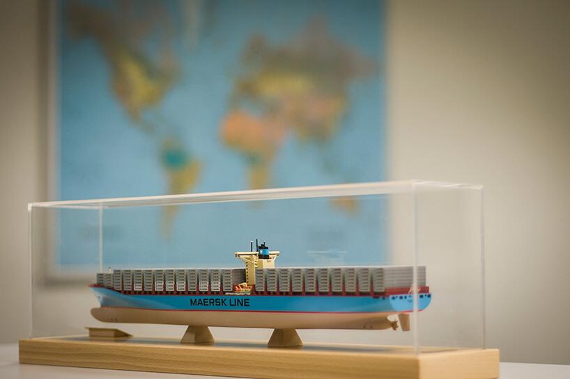 model kontenerowca