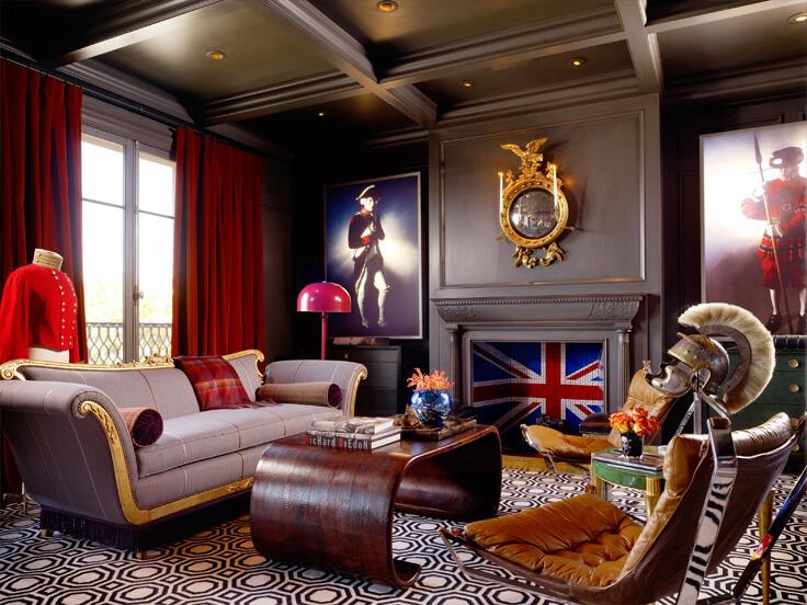 brytyjski salon glamour Ken Hulk