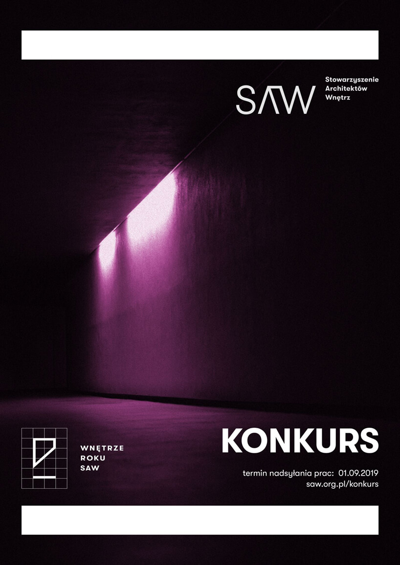 plakat Wnętrze Roku SAW
