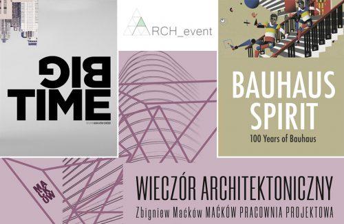 zaproszenie na spotkania we wrześniu 2019 w ARCH_event