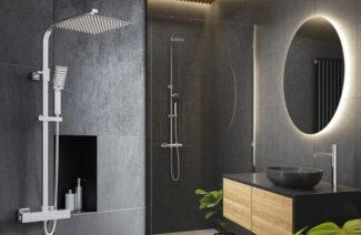 Wygoda i dobry styl w łazience: nowoczesne kolumny natryskowe