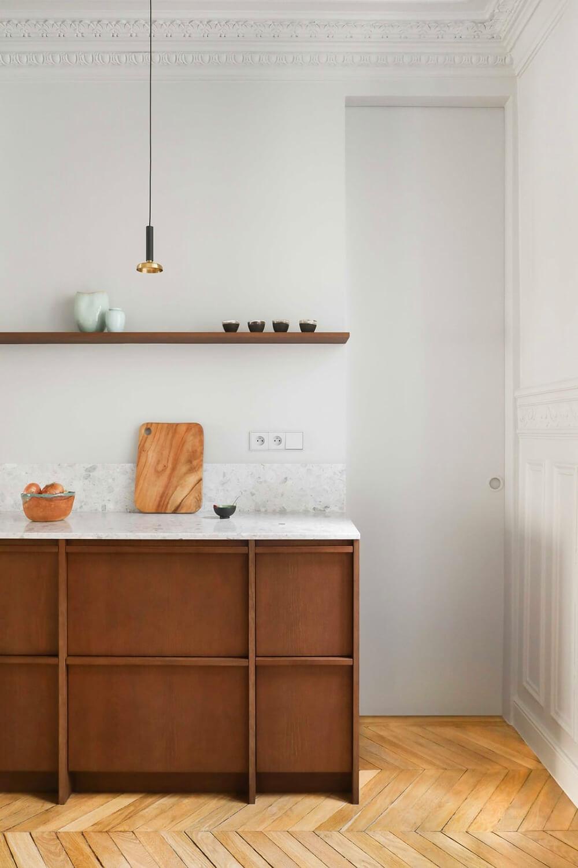 Wygoda inspirowana Japonią: minimalistyczny apartament wParyżu