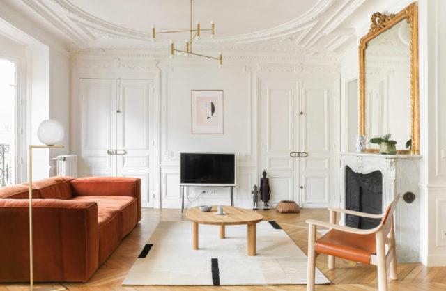 Wygoda inspirowana Japonią: minimalistyczny apartament w Paryżu