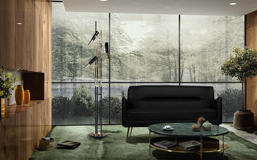 piekny zielony dywan waranżacji luksusowego szalonu
