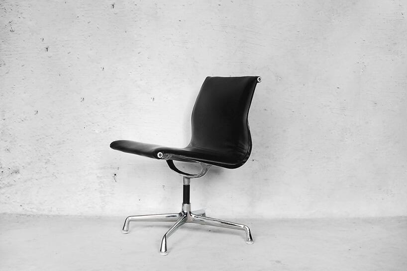 pojedynczy czarny fotel