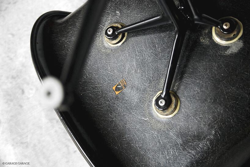 mocowanie siedziska czarnego fotela zlogiem miller