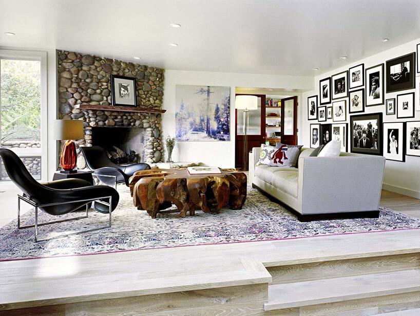 przestronne wnętrze saloniu