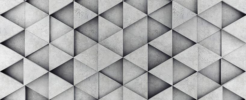 płytki 3D zarchitektonicznego betonu