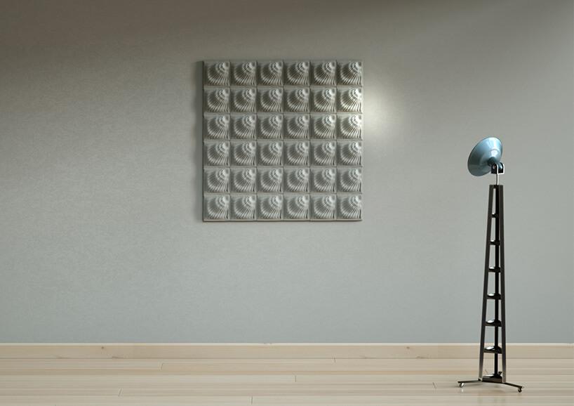 wyjątkowe betonowe płytki 3D