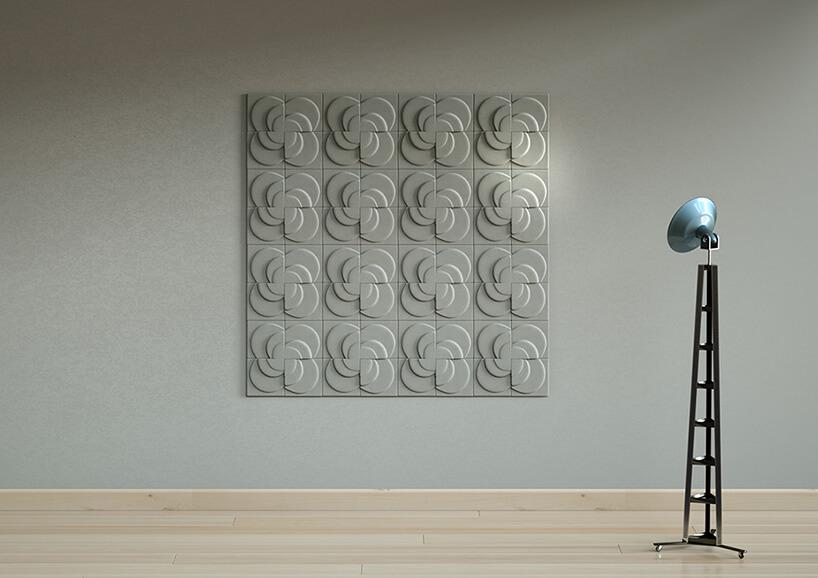 duże betonowe płytki 3D