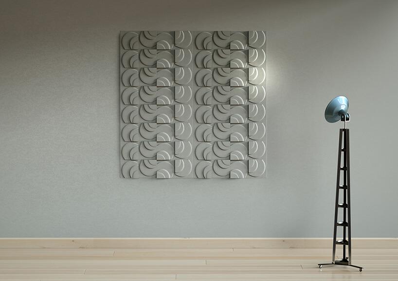 podłużne betonowe płytki 3D