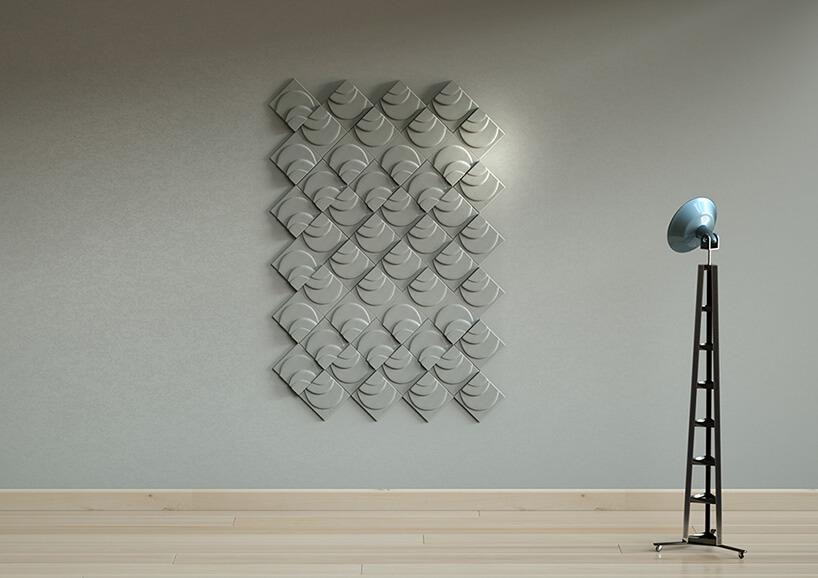 nieregularne płytki 3D zbetonu architektonicznego