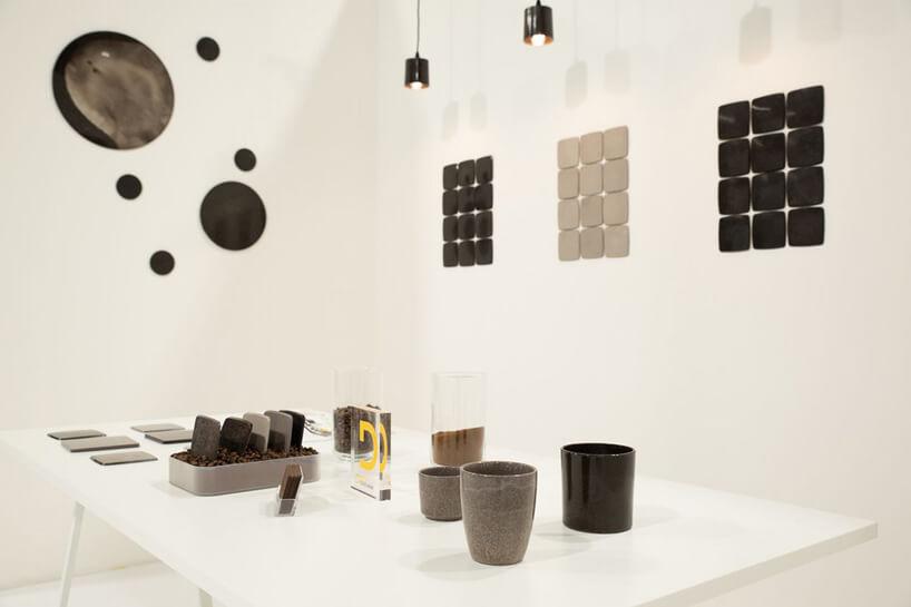 białe stoisko That's Caffeine wramach wystawy IDEAS na Warsaw Home 2019