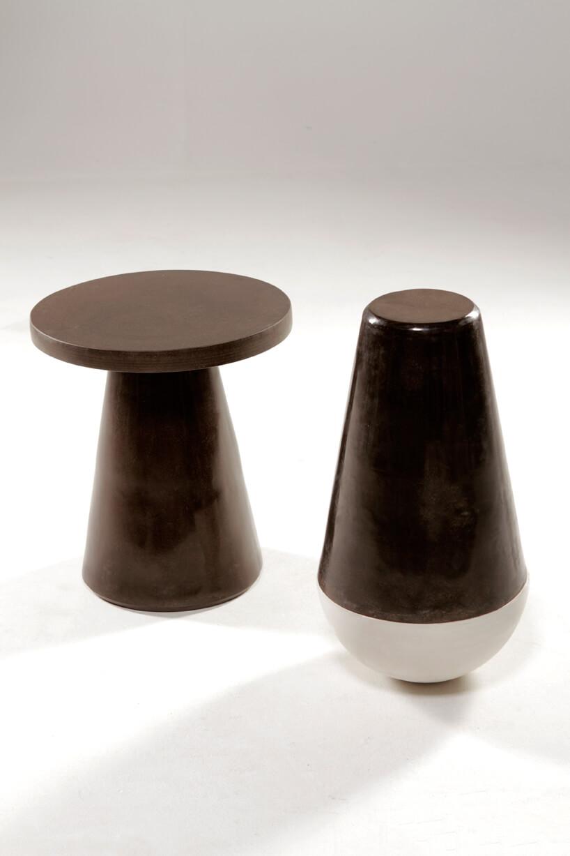 wyjątkowy brązowy stolik od That's Caffeine