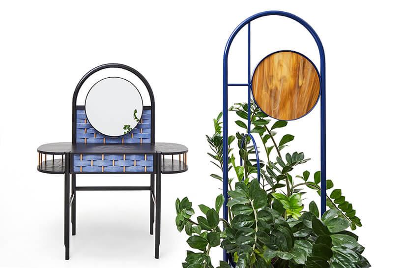 stolik ikwietnik zkolekcji Splot od Sikorski Supreme Furniture