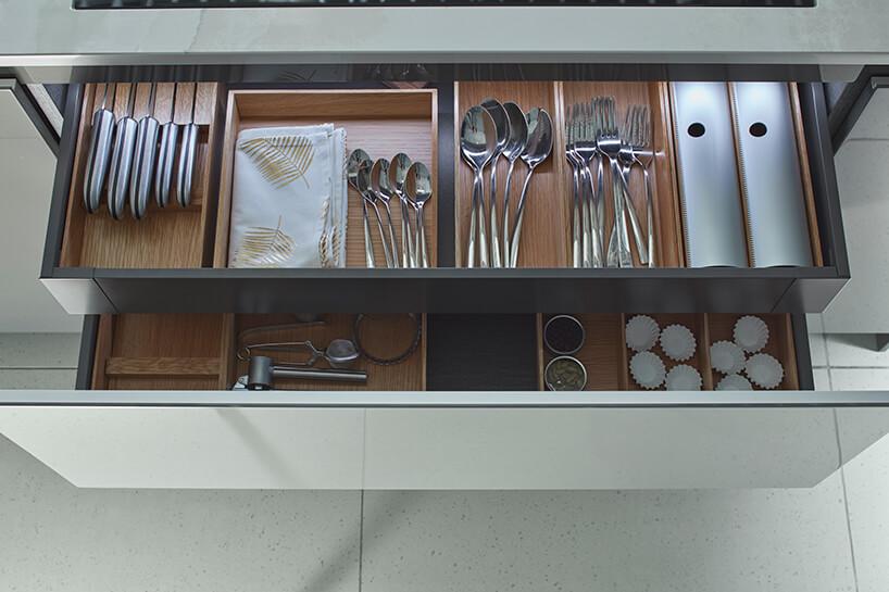kuchnia premium od ernestrust podwójna szuflada na sztućce