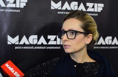 Nina Ryszka podczas wywiadu dla MAGAZIF na Fast Textile 2017