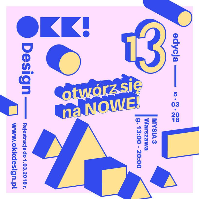 plakat 13 edycji OKK Design