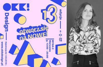 Olga Kisiel-Konopa i plakat OKK design