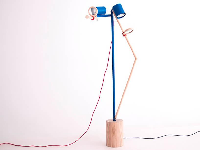 projekt lampy CLOSE-UP nagrodzony wkonkursie Young Design 2019