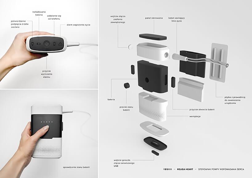 projekt RELIGA HEART nagrodzony wkonkursie Young Design 2019 budowa