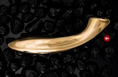 Złoty dildo