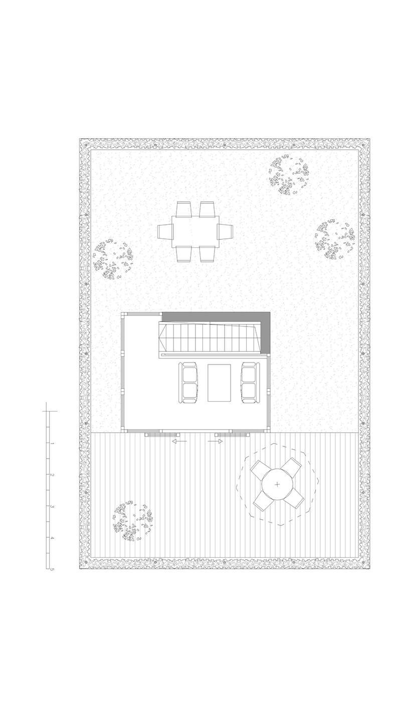 plan górnego piętra wnowym domu