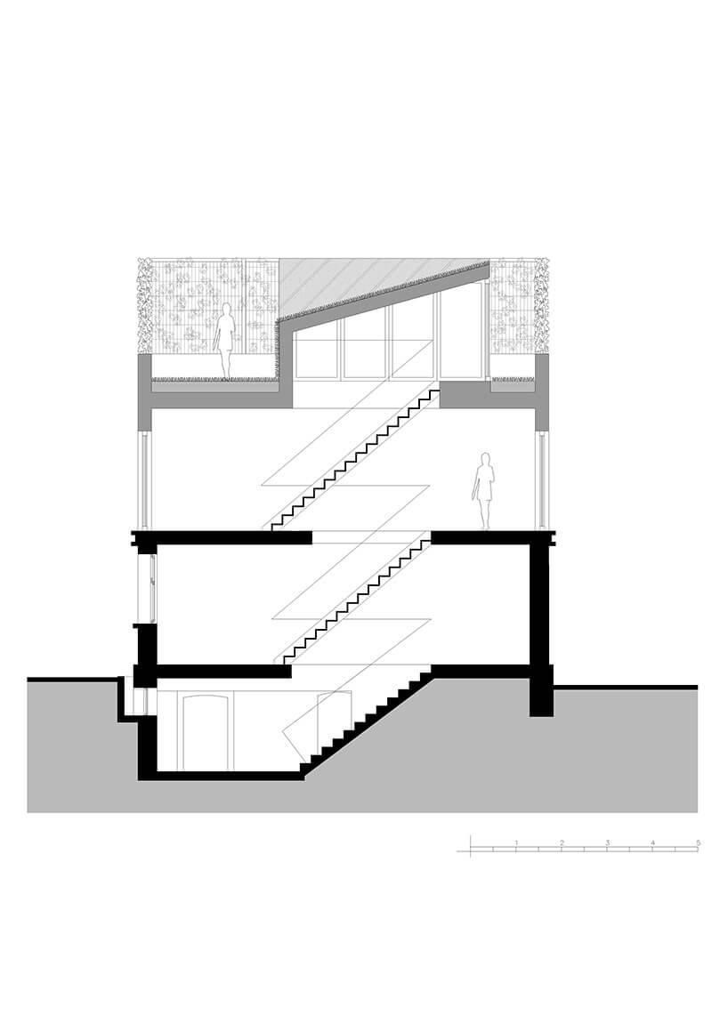 nowoczesny wysoki dom trzy piętrowy