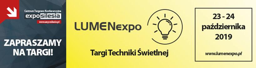 zaproszenie na LUMENexpo 2020