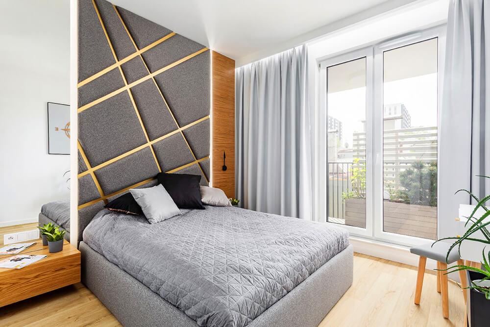 bz0116 Cosentino apartament - Złoto imiedź na Woli
