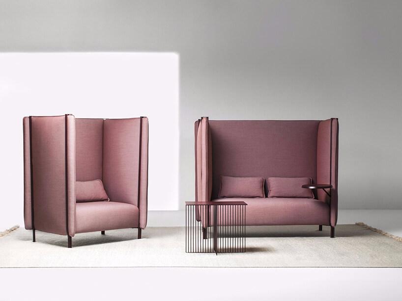 sofa pinch zwysokimi bokami