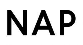 czarny logotyp NAP