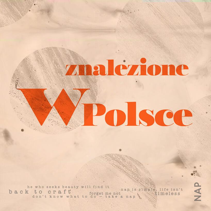 plakat konkursu NAP Znalezione wPolsce